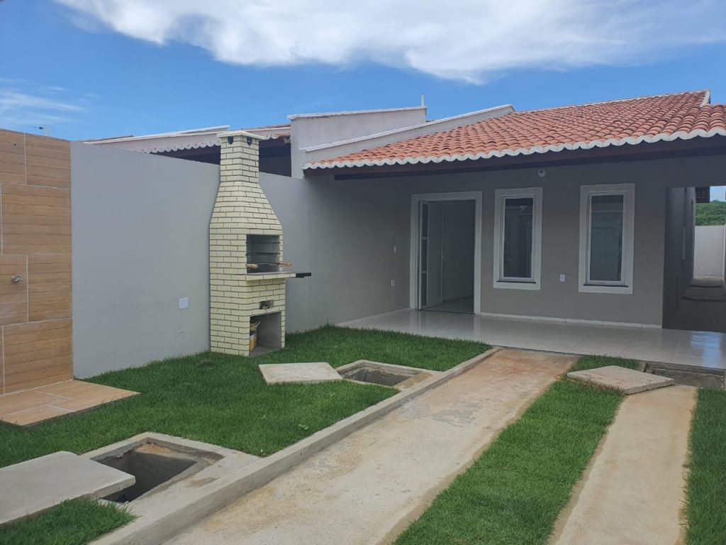 Casa a venda possui 80 metros quadrados com 2 quartos em Ancuri – Itaitinga – CE